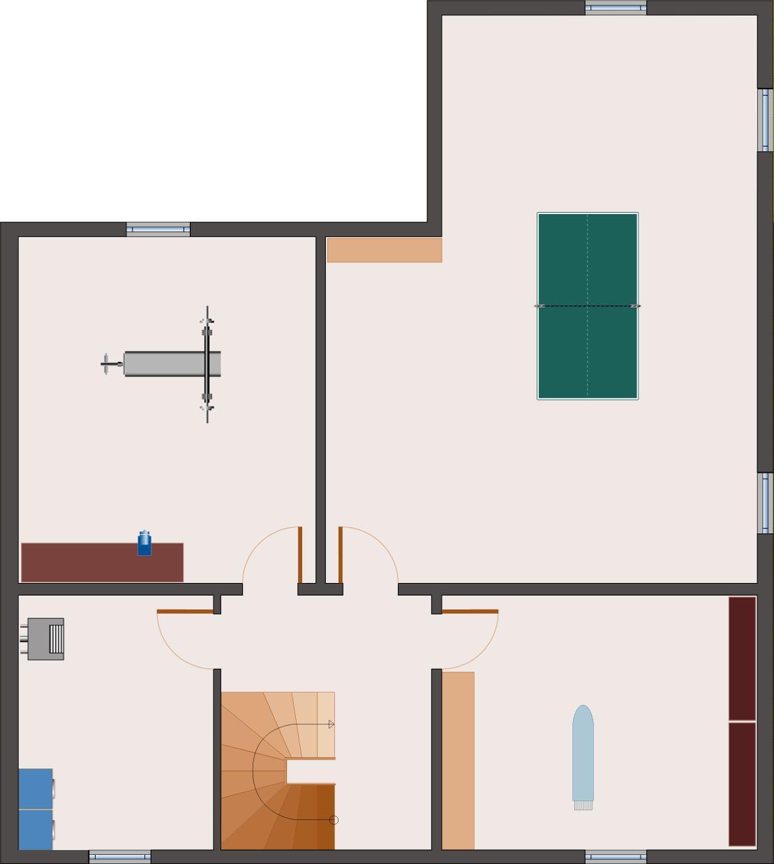 Winkelbungalow Beryll 142 - Keller