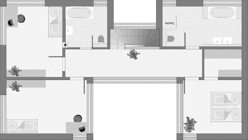 Bauhaus-Stil: Dolomit 183 - Das Erdgeschoss