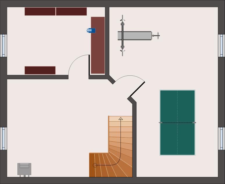 Landhaus Rubin 131 - Keller