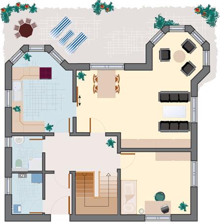 Landhaus Rubin 172- Erdgeschoss