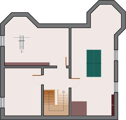 Landhaus Rubin 172- Keller