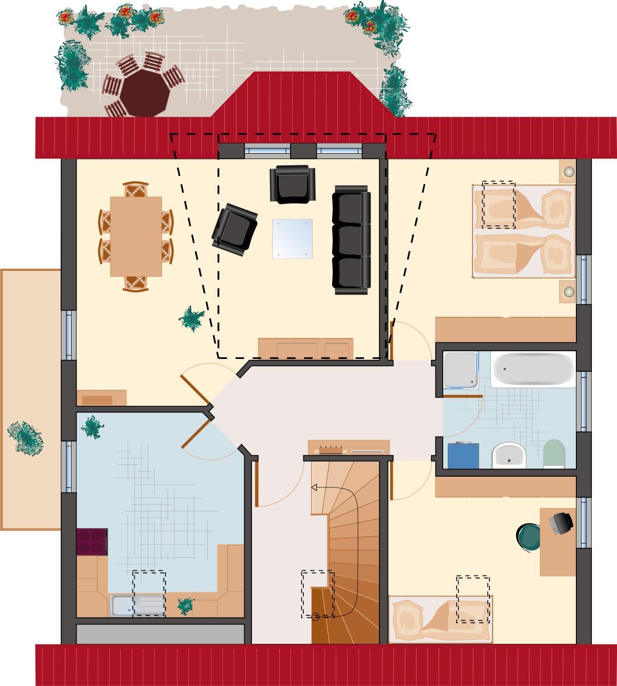 Landhaus Rubin 187- Dachgeschoss
