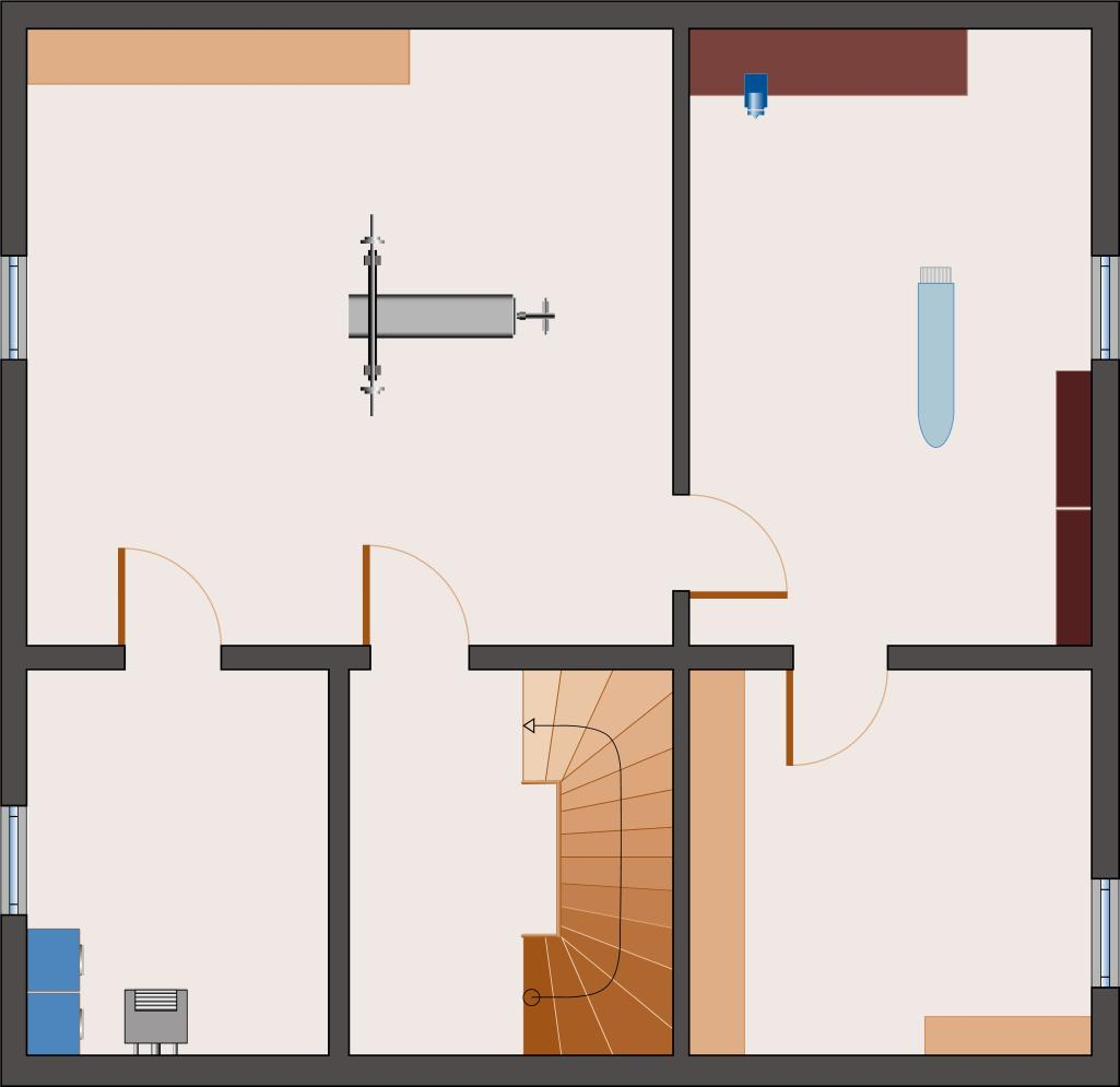 Landhaus Rubin 187- Keller