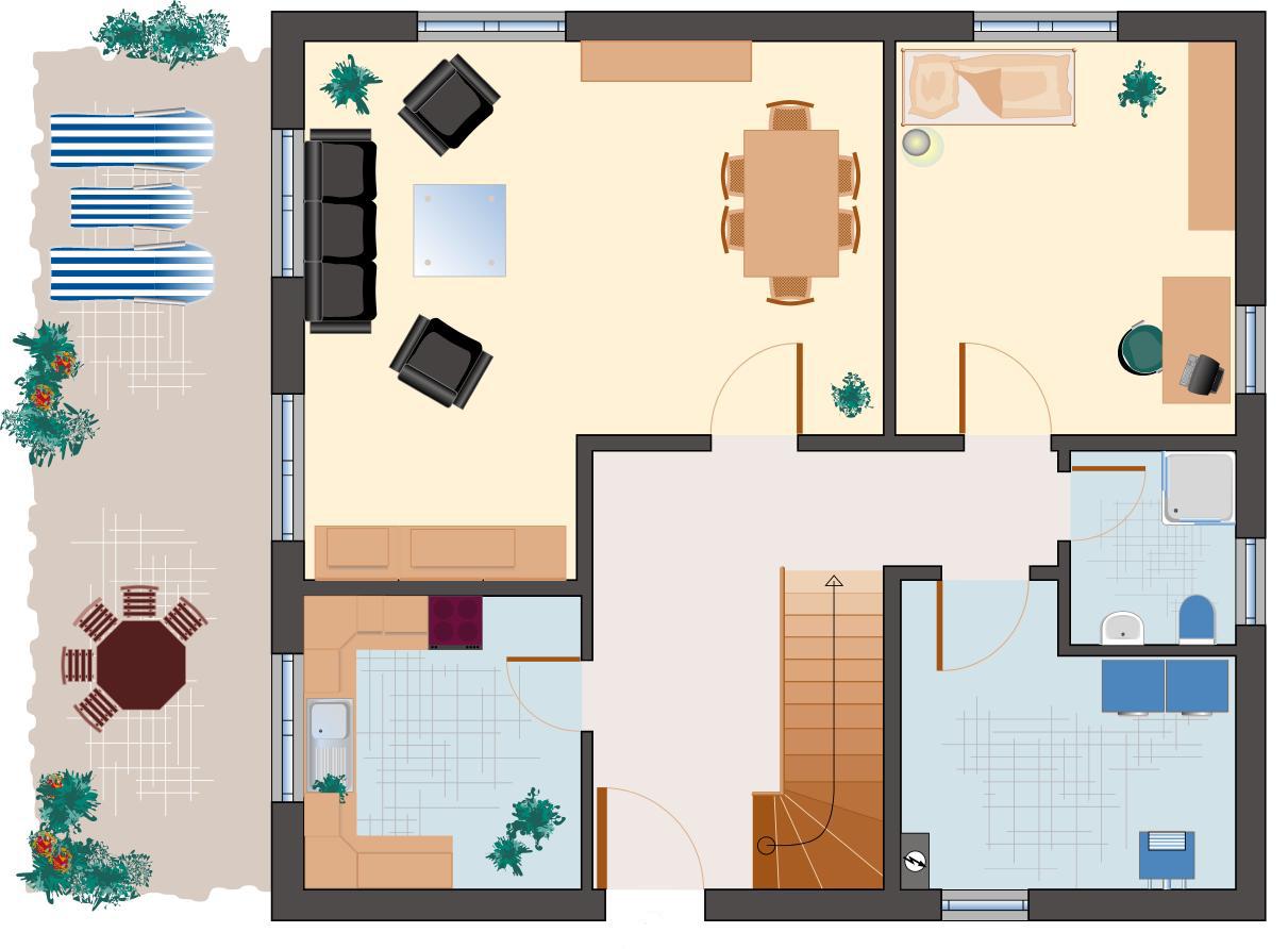 Klassiker-Stil: Saphir 158 - Erdgeschoss