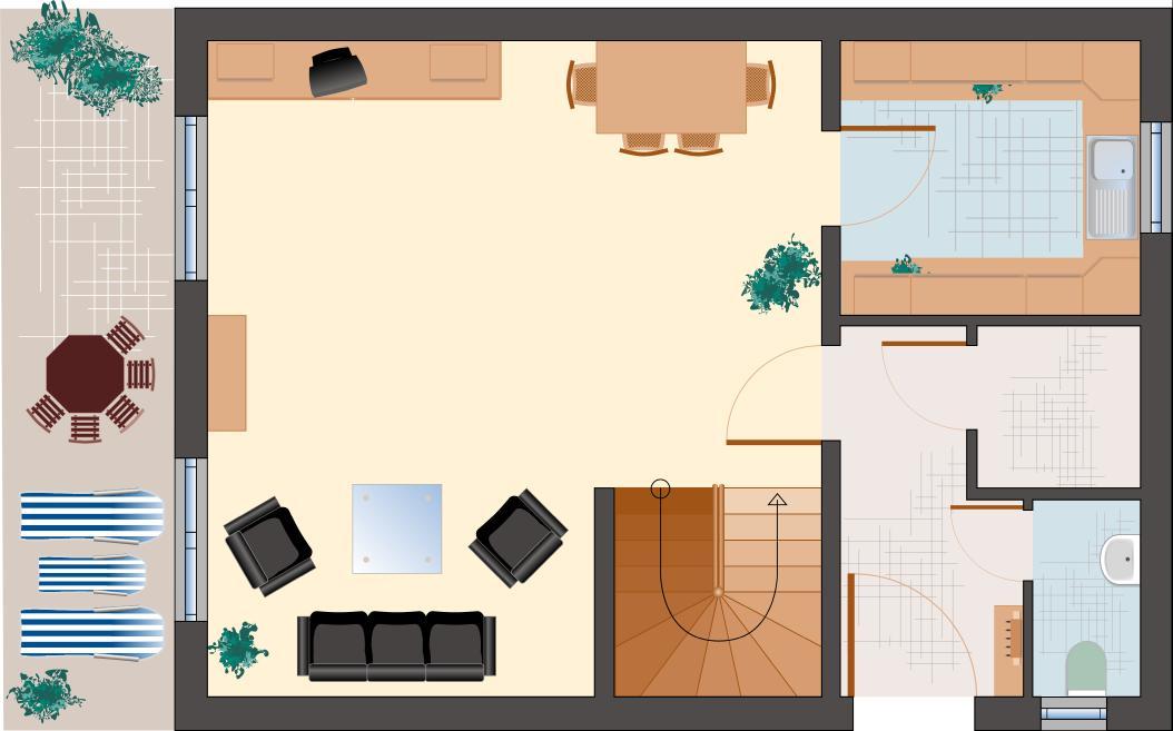 Klassiker-Stil: Saphir 95 - Erdgeschoss