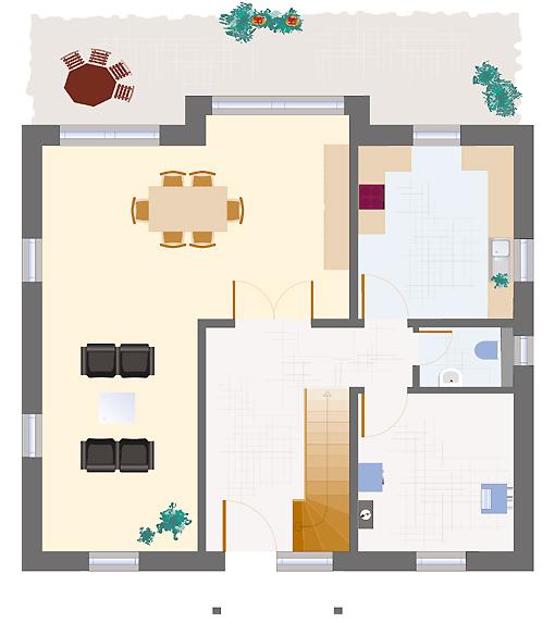 Landhaus Smaragd 153 - Erdgeschoss