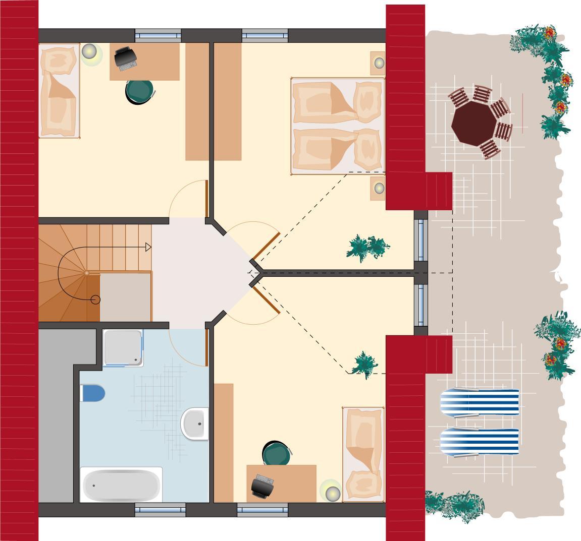 Klassiker-Stil: Zirkon 140 - Dachgeschoss