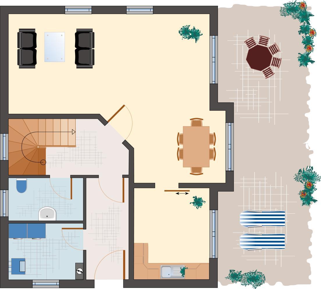 Klassiker-Stil: Zirkon 140 - Erdgeschoss