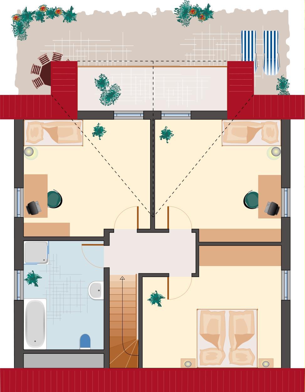 Klassiker-Stil: Zirkon 153 - Dachgeschoss