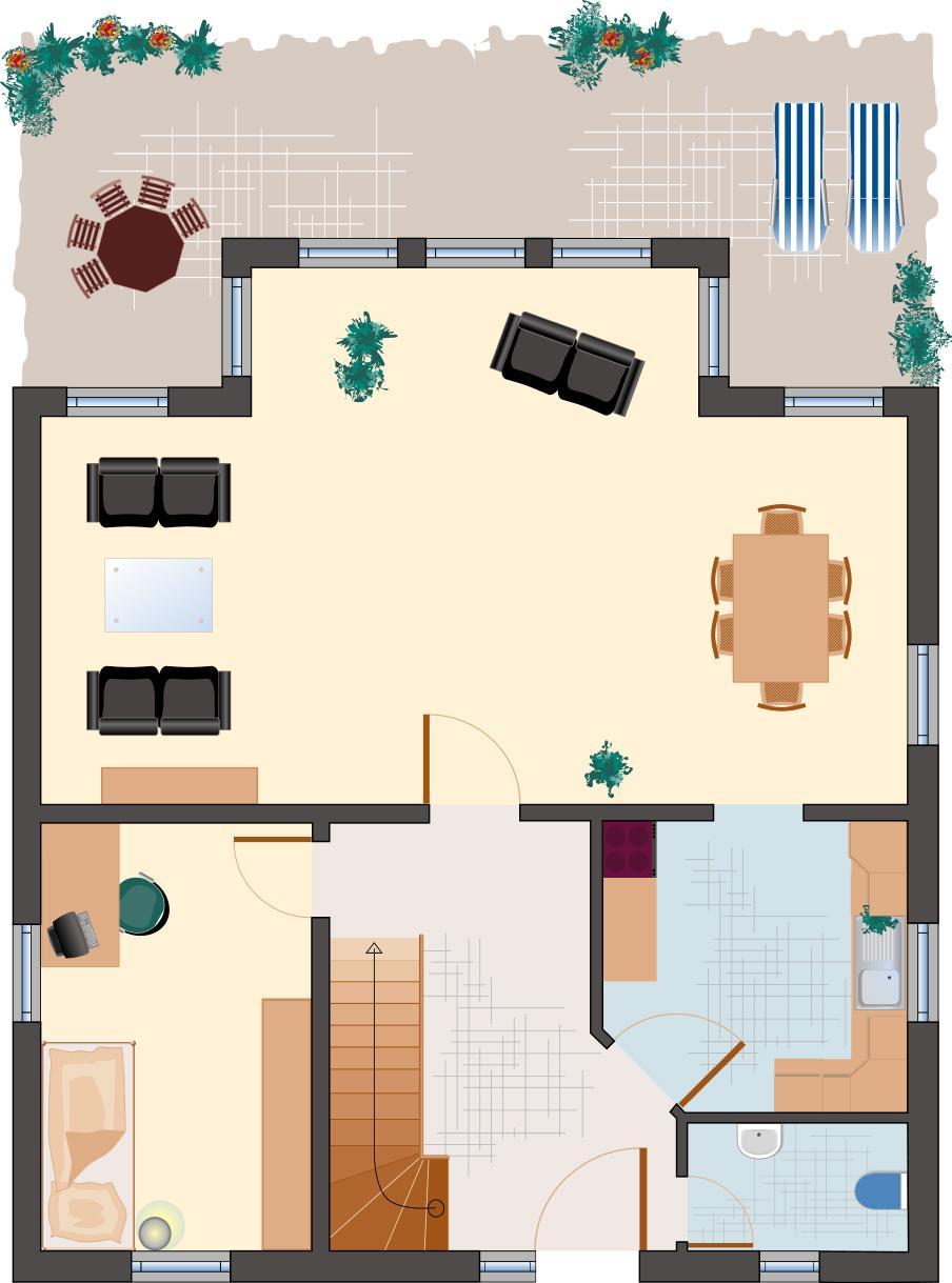 Klassiker-Stil: Zirkon 153 - Erdgeschoss