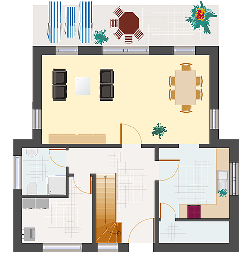 Architektenhaus: Achat 136 - Erdgeschoss
