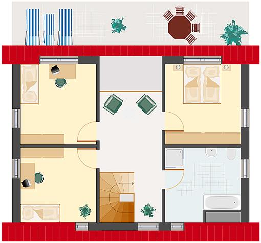 Architektenhaus: Achat 152 - Dachgeschoss