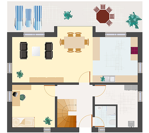 Architektenhaus: Achat 152 - Erdgeschoss
