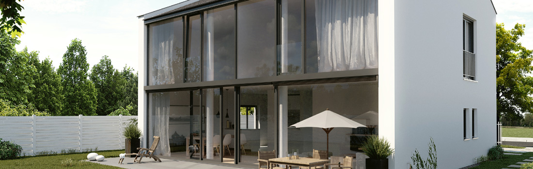 Moderne Häuser / Architektenhäuser - Karussell