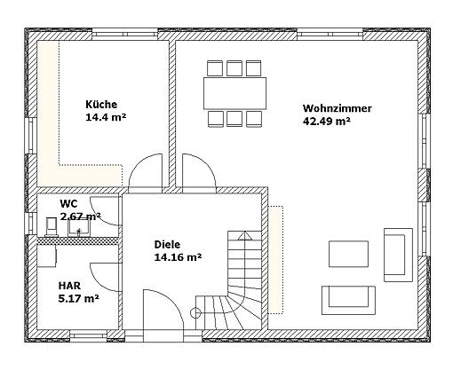 massives landhaus zwenkau 2008 einfamilien wohnhaus mit bodenplatte und gaube. Black Bedroom Furniture Sets. Home Design Ideas