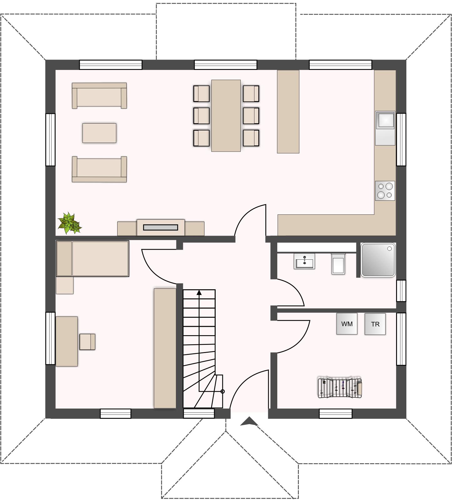 Topas 186 - Erdgeschoss