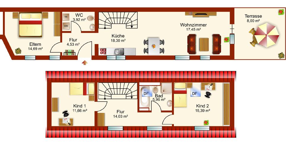 Sanierung MFH Dürerstrasse - Hinterhaus