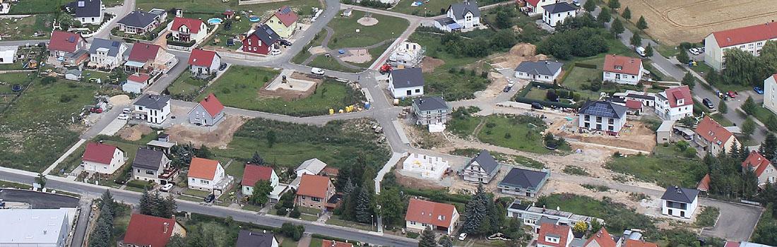Wohngebiet Mellingen Thüringen - Karussell
