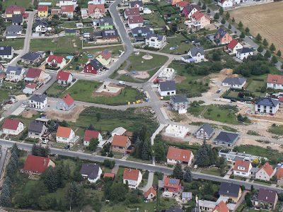 Wohngebiet Mellingen Thüringen - Stand August 2017