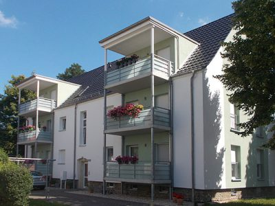 Sanierung MFH Schubertstrasse - Balkonseite