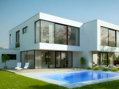 Bauhaus-Doppelhaus Rötha: Bild 1a